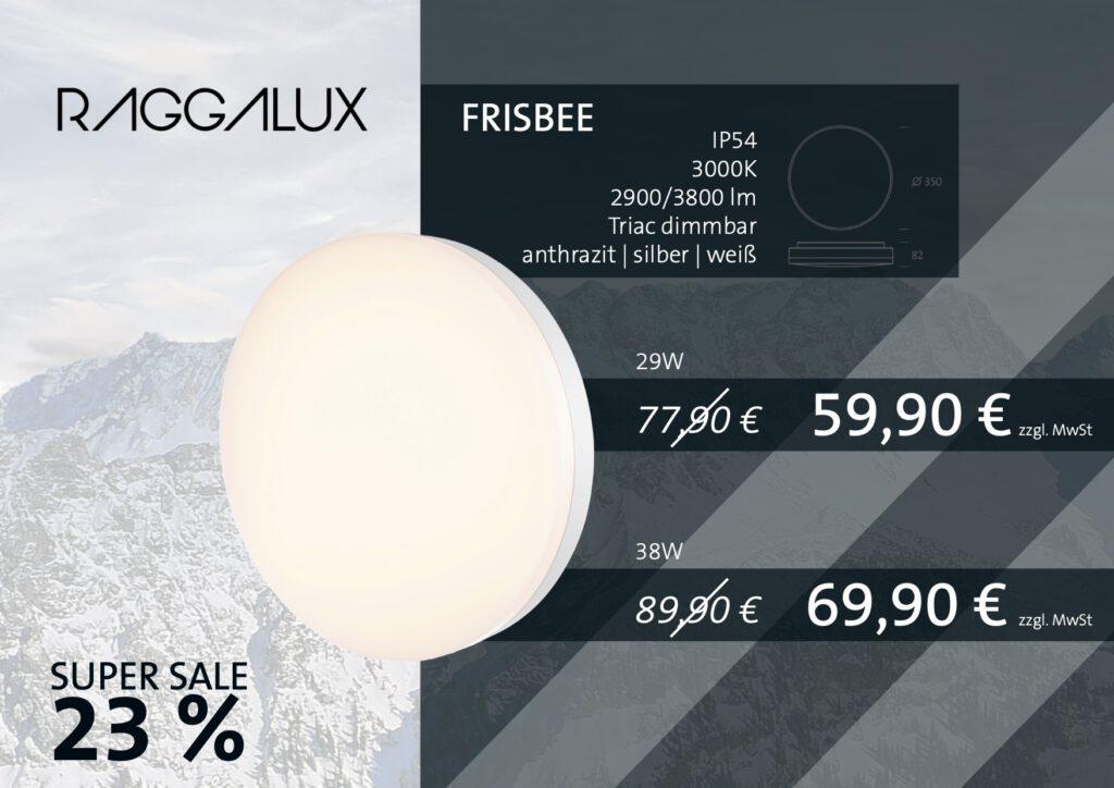 Raggalux Frisbee Sale Aktion