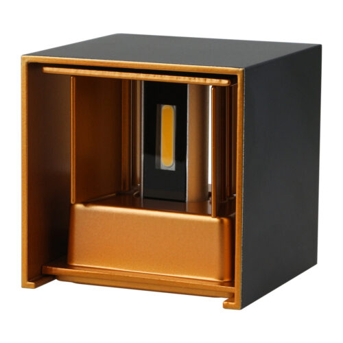 Cube gold schwarz